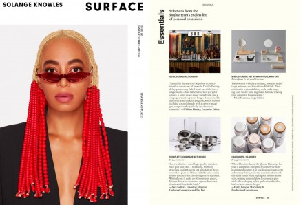 Surface Magazine. The American magazine